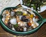 Grilled Shrimp with Vegetables