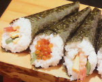 Spicy Tuna Hand Roll Sushi