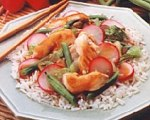 Hoisin Chicken and Radish Stir Fry