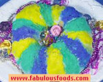 Mardi-Gras King Cake - Traditional  and Bread Machine Versions