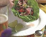 Korean Style Steak and Lettuce Wraps