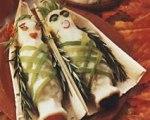 Mummified Mashed Potatoes for Halloween