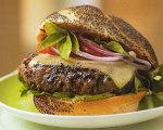 Napa Valley Basil Smoked Burgers