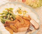 Pork Chops with Carmelized Apples