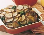 Pot Luck Pork Chop and Potato Casserole