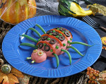 Mashed Potato Spiders -- Halloween Recipes