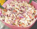 Pasta Cole Slaw Salad