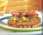 South Beach Diet Tempeh Dagwood Sandwich
