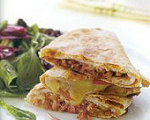 Turkey and Balsamic Onion Quesadillas