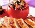 Stuffed Tomatoes with Vegetables and Rice