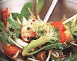 Vegetable, Bean Sprout and Tofu Stir-Fry