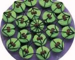 Halloween Spider Web Cupcake Platter