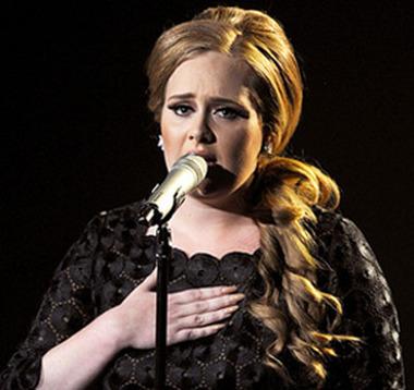 Listening to Adele