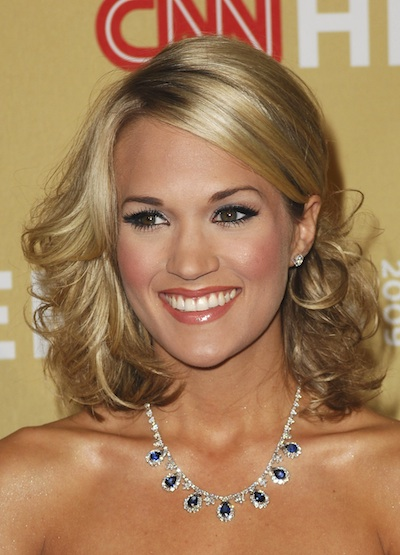 curly hairstyles carrie underwood