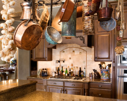 Country cool d cor italian rustic kitchen for Rustic italian kitchen designs