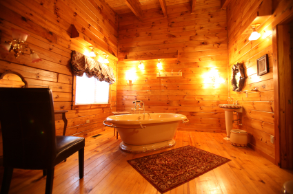 301 moved permanently for Log cabin bathroom design ideas