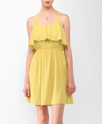 yellow sundress pretty pastels