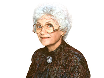 estelle getty as sophia petrillo in the golden girls