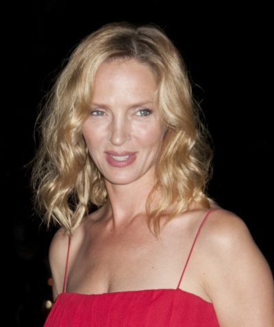 uma thurman hairstyles : Uma Thurman - Blonde hairstyles