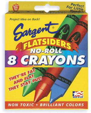 flatside crayons