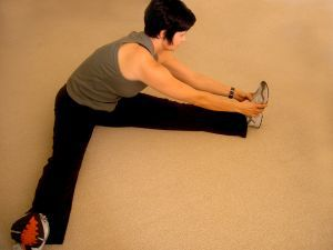 stretch before exercise
