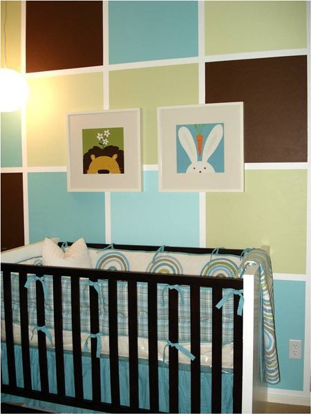 designer baby nursery