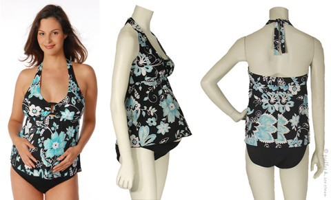 blue-black-maternity-swimsuit
