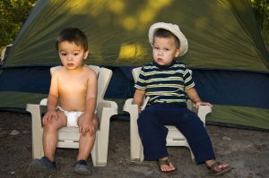 taking your baby camping