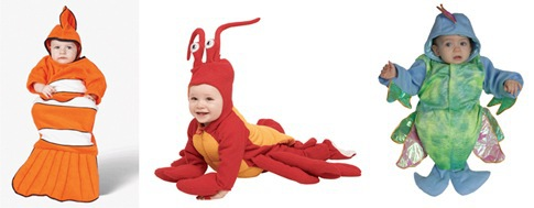 Baby halloween costume under the sea for Baby fish costume