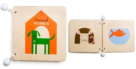 animal-home-wooden-book