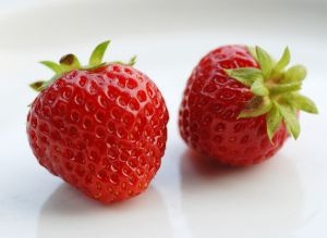 healthy strawberry