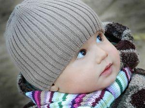 baby winter skin