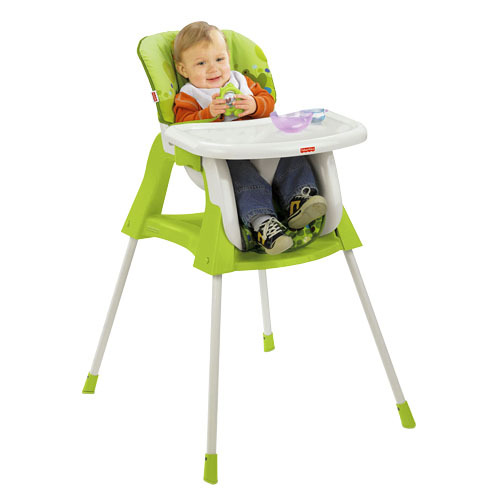 fisher price 4 in 1 baby system high chair and toddler seat