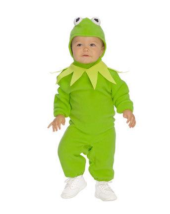 infant toddler kermit the frog costume infant peanut costume