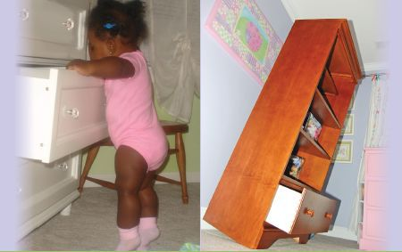 tipover, baby proof, babyproof, baby proofing, baby safety, baby deaths, furniture tipovers, tv stands,