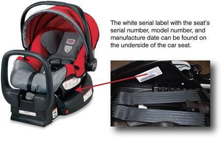 Britax Chaperone infant car seats recalled