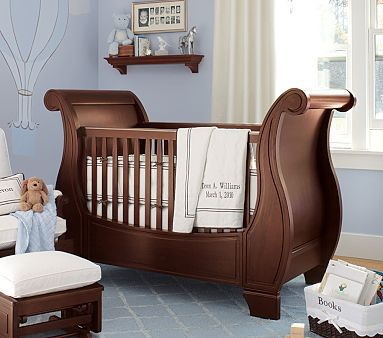 pottery barn sleigh crib price 1