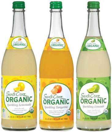 Sparkling Lemonade, Limeade and Tangerine drinks (100-110 calories per ...