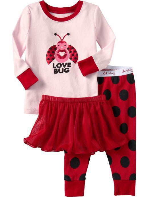 valentines day pajamas for your baby - Valentines Day Pajamas