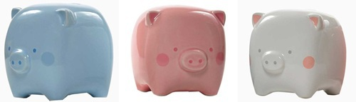 piggy bank, square piggy bank, baby bank, unique baby bank, unique piggy bank, nursery decor, new baby gift