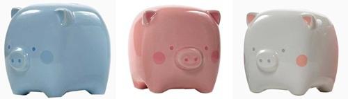 piggy bank, square piggy bank, baby bank, unique baby bank, unique piggy bank, nursery decor, new baby gift