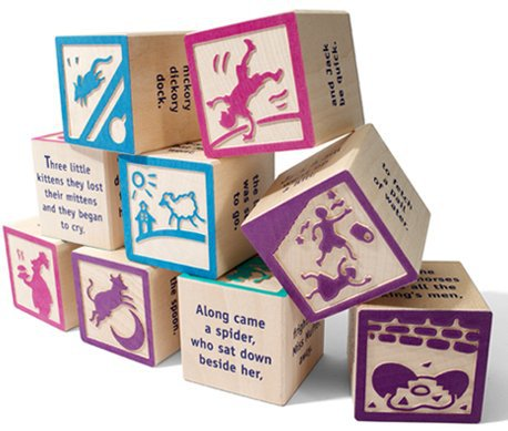 nursery rhyme building blocks