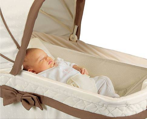 baby bassinet, baby nursery, colic baby, congested baby, kolcraft Bassinet