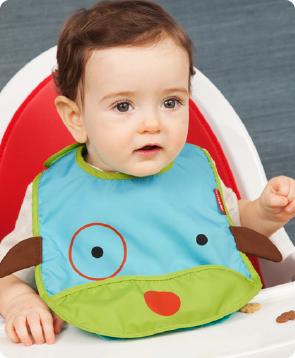 baby bib, baby chic, baby gift, skip hop baby, cute baby bibs, zoo bibs from skip hop