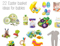 22 Adorable Easter basket ideas for babies