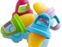 Perfect ice pop molds for babies