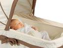 New Kolcraft bassinet helps babies who suffer from colic or congestion