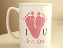 7 Adorable footprint keepsakes from Etsy