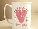 7 Adorable footprint keepsakes from Etsy