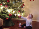 Adorable video documents Christmas with a baby